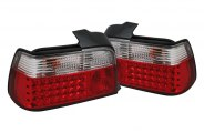 SPYDER� - Red/Clear LED Tail Lights - E36 4DR