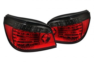 Spyder® - Red/Smoke Fiber Optic Style LED Tail Lights