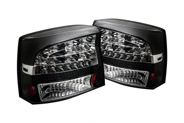 spyder alt yd dch05 led bk 5002273 black led tail lights. Black Bedroom Furniture Sets. Home Design Ideas
