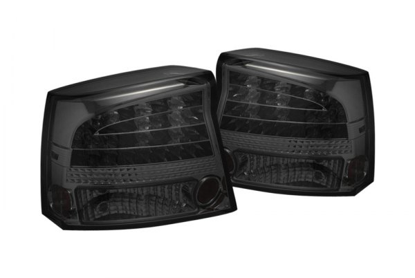 spyder alt yd dch05 led sm 5002310 smoke led tail lights. Black Bedroom Furniture Sets. Home Design Ideas