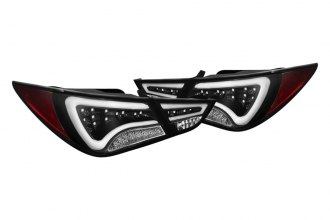 Spyder® - Black Light Bar Style LED Tail Lights