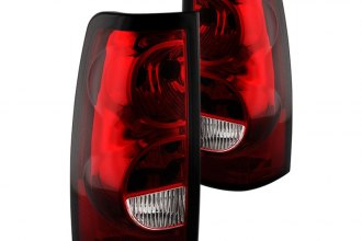 Spyder® - Red/Clear OEM Style Tail Lights