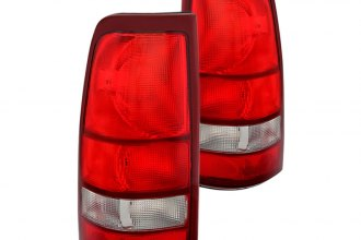 Spyder® - Red/Clear OE Style Tail Lights