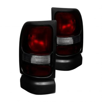 Spyder® - Red/Smoke Euro Tail Lights