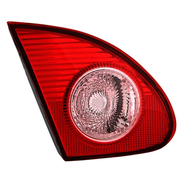 spyder toyota corolla 2004 red clear oem style tail lights. Black Bedroom Furniture Sets. Home Design Ideas