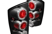 Spyder® - Black Euro Tail Lights with LEDs