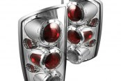 Spyder® - Chrome Euro Tail Lights with LEDs