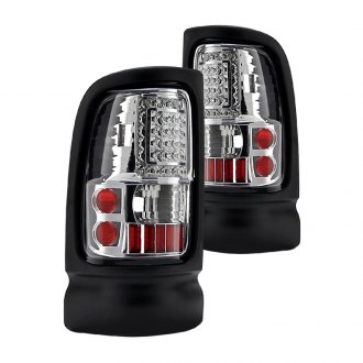 Spyder® - Chrome C-Shape LED Tail Lights G2
