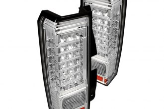 Spyder® - Chrome Fiber Optic Style LED Tail Lights