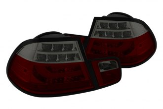 Spyder® - Red/Smoke Light Bar Style LED Tail Lights