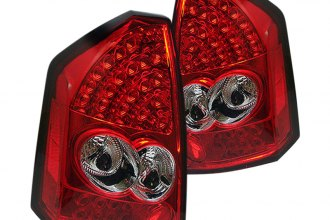 Spyder® ALT-YD-C305-LED-RC - Red/Clear LED Tail Lights