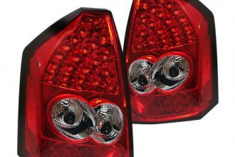 Spyder® ALT-YD-CHR305-LED-RC - Red/Clear LED Tail Lights