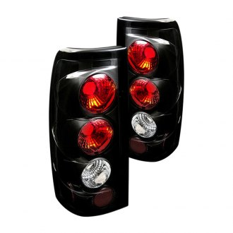 Spyder® - Black Euro Tail Lights G2