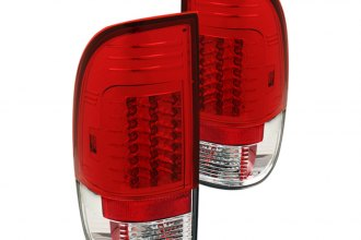Spyder® - Red/Clear LED Tail Lights G2