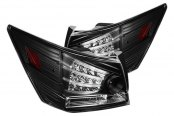 Spyder® - Black Fiber Optic LED Tail Lights