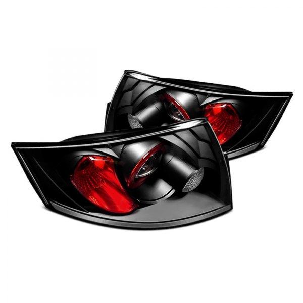 Spyder Auto Black Euro Tail Lights
