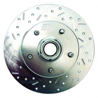 SSBC® - Big Bite Cross Drilled and Slotted 1-Piece Brake Rotor
