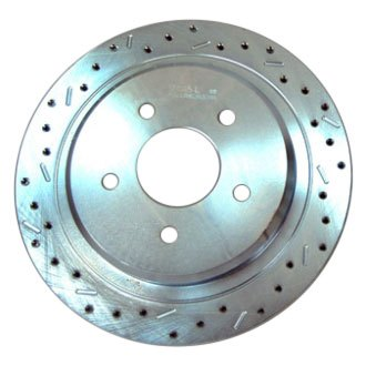 SSBC® - Big Bite Cross Drilled and Slotted Brake Rotor