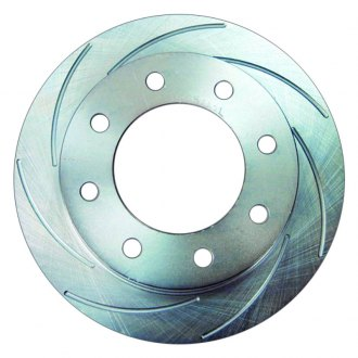 SSBC® - Turbo Slotted Vented 1-Piece Front Brake Rotor