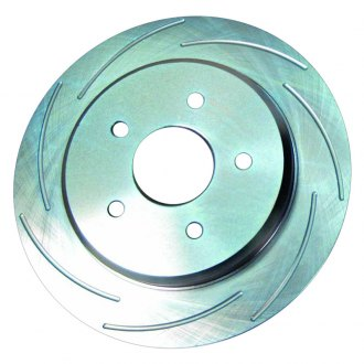 SSBC® - Turbo Slotted 1-Piece Rear Brake Rotor