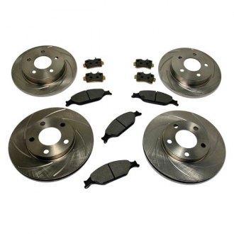 SSBC® - Turbo Slotted Front and Rear Brake Kit