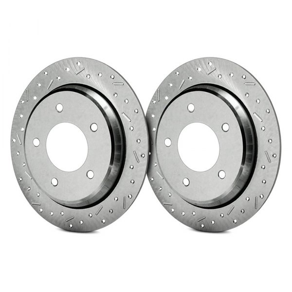 SSBC® - Big Bite Drilled and Slotted 1-Piece Front Brake Rotor