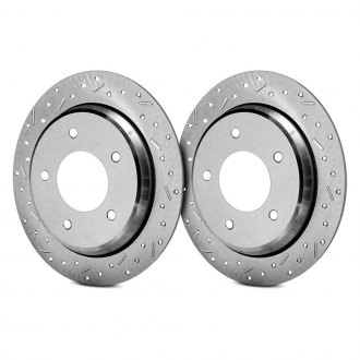 SSBC® - Big Bite Drilled and Slotted Vented 1-Piece Brake Rotor