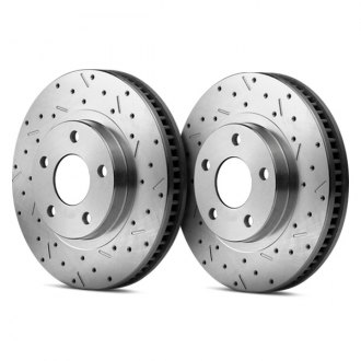 SSBC® - Standard Replacement Cross Drilled Brake Rotor