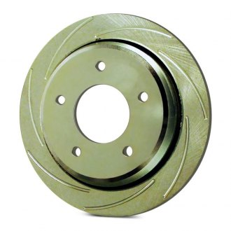 SSBC® - Turbo Slotted Vented 1-Piece Rear Driver Side Brake Rotor