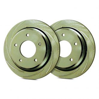 SSBC® - Turbo Slotted Vented 1-Piece Brake Rotor