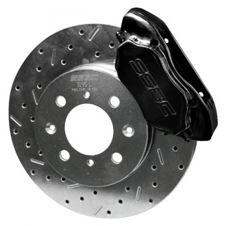SSBC® - Competition Race Drum-to-Disc Rear Brake Kit