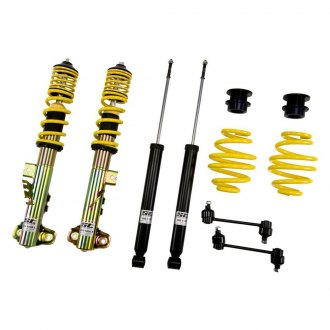 "ST Suspensions® - 1.2""-2.4"" x 0.8""-1.8"" ST X Front and Rear Lowering Coilover Kit"