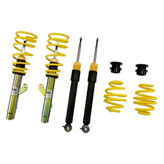 "ST Suspensions® - 0.6-1.6"" x 0.4-1.4"" Front and Rear ST X Height Adjustable Lowering Coilover Kit"