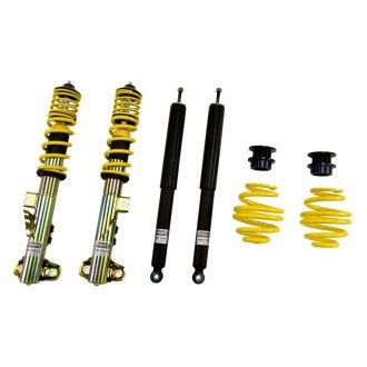 "ST Suspensions® - 1.6""-3.1"" x 0.8""-2"" ST X Front and Rear Lowering Coilover Kit"