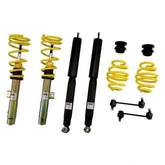 "ST Suspensions® - 0.8""-1.6"" x 0.8""-1.6"" ST X Front and Rear Lowering Coilover Kit"