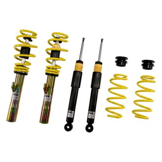 "ST Suspensions® - 1.4-2.6"" Front and Rear ST X Height Adjustable Lowering Coilover Kit"