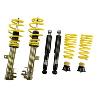 "ST Suspensions 90621 - 0.6""-1.8"" x 0.2""-1.6"" ST X Coilover Lowering Kit"
