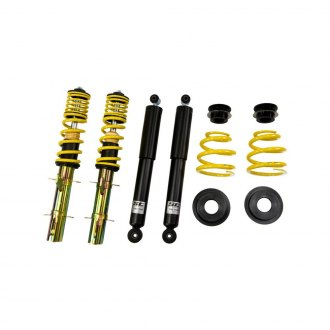 "ST Suspensions® - 0.8""-2"" x 0.6""-1.4"" ST X Front and Rear Lowering Coilover Kit"
