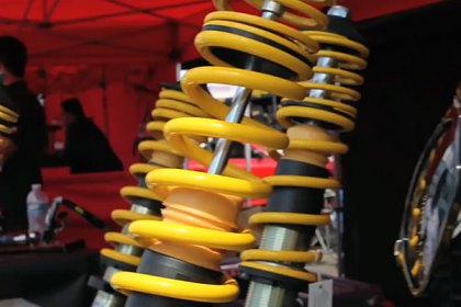 ST Suspensions® Shows Off at Formula Drift (HD)