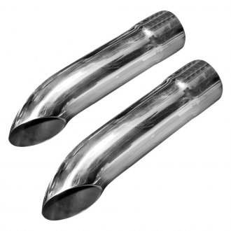 Stainless Works® - 304 SS Turn Down Exhaust Tips
