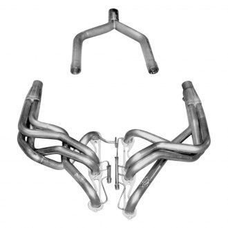 Stainless Works® - Stainless Steel Non-Catted Header Off Road Assembly with Performance Connect Y-Pipe