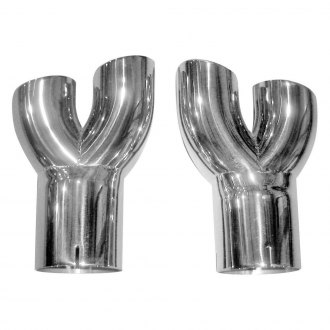 Stainless Works® - 304 SS Y-Style Exhaust Tips