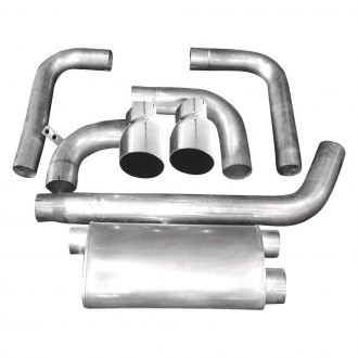 Stainless Works® - 304 SS Cat-Back Exhaust System