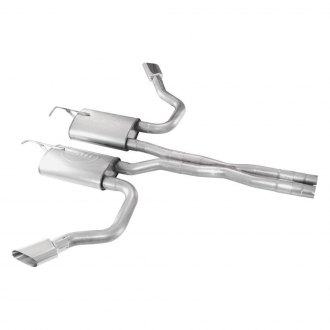 Stainless Works® - 304 SS Dual Cat-Back Exhaust System