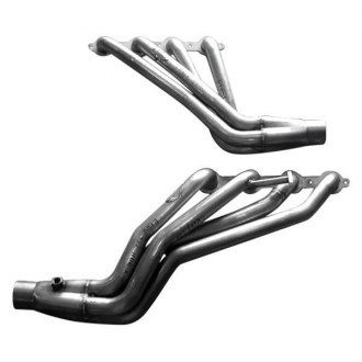 Stainless Works® - Stainless Steel Long Tube Exhaust Headers with Factory Connect