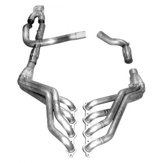 Stainless Works® - Stainless Steel Long Tube Exhaust Header Assembly