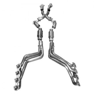 Stainless Works® - Stainless Steel Exhaust Header Assembly