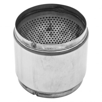 Stainless Works® - 304 SS Round Race Mill Exhaust Muffler
