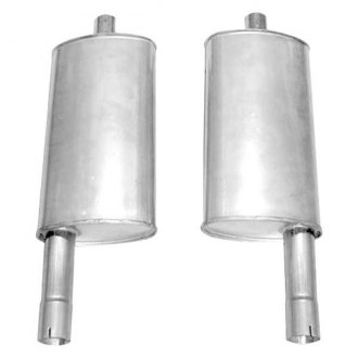 Stainless Works® - 304 SS Muffler Kit