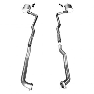 Stainless Works® - 304 SS Header-Back Exhaust System